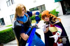 Lina and Gourry - The Slayers