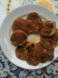 Gluten Free and Healthy Blueberry Pancakes #glutenfree
