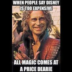 All magic comes with a Price