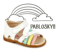 Pablosky, una firma española de calzado infantil y juvenil que lo tiene todo Baby Girl Shoes, Kid Shoes, Girls Shoes, Baby Girl Fashion, Kids Fashion, Piel Natural, Kids Sandals, Childrens Shoes, Huaraches