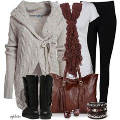 """Ugg-lier Contest #1"" by angkclaxton on Polyvore"
