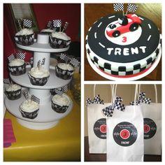 Race Car Birthday Party #racecar #party
