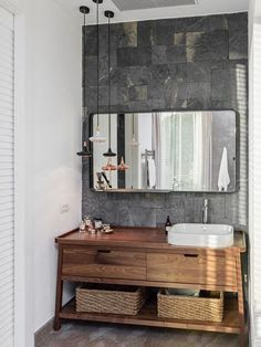 Marine plywood vanity