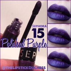 Day these still hot? Last year they were consistently sold-out Purple Lipstick, Sephora, Beauty Makeup, Face, Instagram, Hot, Violet Lipstick, The Face, Faces