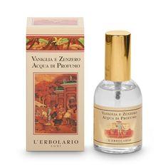 Zenzero: un velo di mistero in un aroma sensuale che perde le sue radici in tempi antichissimi. Uno spirito agrumato, leggermente piccante. Vaniglia: il fa
