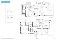 43 best Reverse Living House Plans images on Pinterest | Floor plans ...