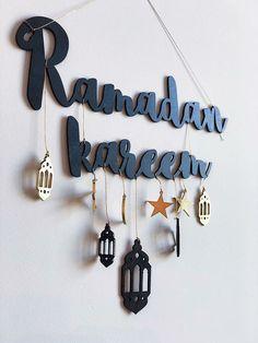 Ramada is the most pious month in the history of Islam. There are Three Ashra of Ramadan (also written as Ramazan) called Mercy, fogginess, and Nijat Ramadan Diy, Ramadan Crafts, Ramadan Sweets, Muslim Ramadan, Ramadan Kareem Pictures, Ramadan Images, Islamic Decor, Islamic Art, Arabic Decor