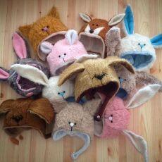 Кукольный трикотаж, волосы, ткани, обувь, Тильда  Шапочки для кукол и игрушек:) Идеи и подборка выкроек