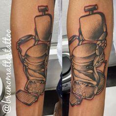 Tattoo bruno mattos  Instagram @brunomattostattoo