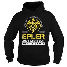 [Love Tshirt name font] EPLER Blood Runs Through My Veins Dragon Last Name Surname T-Shirt Discount Today Hoodies, Funny Tee Shirts