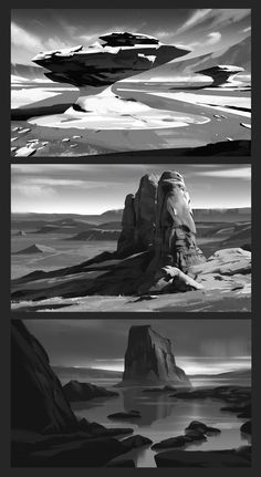 Discover recipes, home ideas, style inspiration and other ideas to try. Landscape Concept, Landscape Art, Landscape Paintings, Design Visual, Bg Design, Environment Sketch, Environment Design, Digital Painting Tutorials, Art Tutorials