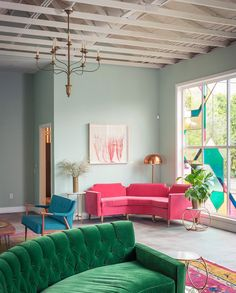 Emily Henderson's 10 Go-To Paint Colors. This one is  Teresa's Green – Farrow & Ball.