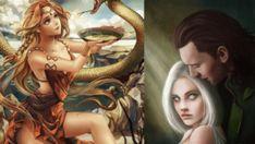 Viking Symbols and Norse Symbols in North Mythology Viking Symbols And Meanings, Norse Symbols, North Mythology, Loki, Vikings, Meant To Be, Princess Zelda, Fictional Characters, Art