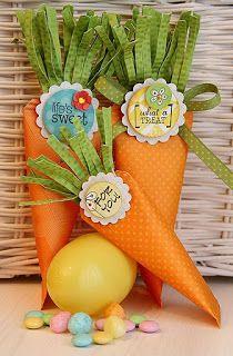 Páscoa: Enfeites com cenoura ~ Arte De Fazer | Decoração e Artesanato