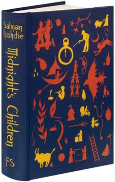 The Folio Society edition of Midnight's Children by Salman Rushdie I Love Books, Good Books, Books To Read, My Books, Book Cover Design, Book Design, Midnight's Children, Salman Rushdie, Beautiful Book Covers