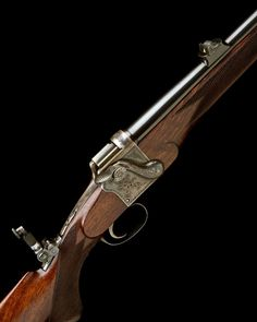 .303 NITRO EXPRESS FRASER 1880 PATENT SIDELEVER TAKE-DOWN FALLING-BLOCK SPORTING RIFLE, serial no. 3474, 27in. round nitro barrel engraved 'ALEXR. HENRY & CO. 22 FREDERICK ST. EDINBURGH.'