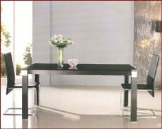 Glass Top Contemporary Dining Set OL-1 by OLE. $809.00