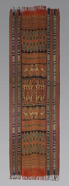 Indonesian Visual Cultures / Ceremonial Hanging (Porilonjong), Rongkong Toraja XIX century