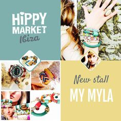 Awesome new stall with beautiful jewelry: MyMyla! Click here to visit all our stalls: http://www.hippymarketibiza.com/en/stalls/  Don't miss a thing & subscribe to our newsletter: http://eepurl.com/RkbHf