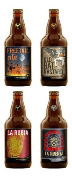 Freetail Brewing / Beer v. All Beer, Beer Bar, Wine And Beer, Best Beer, Drink Beer, Beer Brewing, Home Brewing, Beer Magazine, Beer Label Design