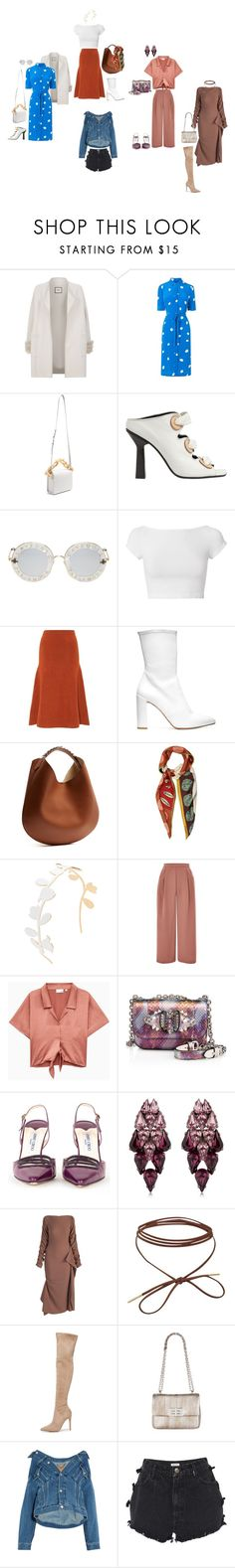 """""""me and aghhhhh"""" by yusufbudiman on Polyvore featuring Max & Moi, L.K.Bennett, Marques'Almeida, J.W. Anderson, Gucci, Helmut Lang, Joseph, Stuart Weitzman, Givenchy and Valentino"""