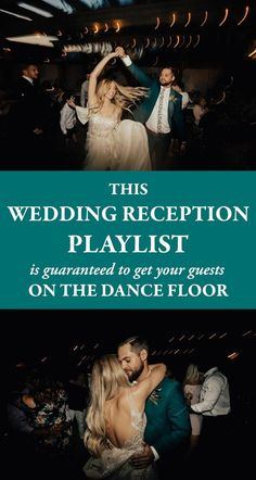 From country to hip-hop classic and from R&B to pop hits, this wedding reception playlist has songs you need to keep the party going all night long. wedding dance floors This Wedding Reception Playlist is Guaranteed to Get Your Guests on the Dance Floor Wedding Reception Songs Dance, Reception Entrance Songs, Wedding Reception Timeline, Wedding Party Songs, Dance Floor Wedding, Reception Party, Wedding Dj, Trendy Wedding, Reception Ideas