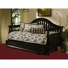Fraser Daybed with Link Spring Accessories: Link Spring and Pop-up - http://delanico.com/daybeds/fraser-daybed-with-link-spring-accessories-link-spring-and-popup-548754702/