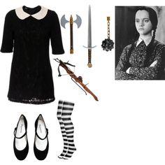 wednesday addams - Halloween Costumes Wednesday Addams