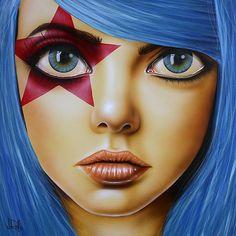 """""""Star Eyed""""   Scott Rohlfs"""