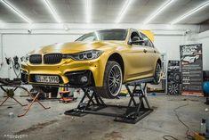 Car Wrap, Golden Yellow, Smoothie, Vehicle, Solar, Chrome, Satin, Usa, Design