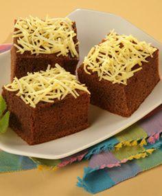 [Resep] Cheese Choco Cake http://www.perutgendut.com/read/cheese-choco-cake/1993 #Resep #Food #Kuliner #Indonesia
