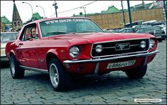 Vintage Ford Mustang