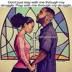 A family that prays together, stays together - apart from God a marriage in trouble has no chance ! Black Love Art, My Black Is Beautiful, Black Picture, African American Art, African Art, Art Amour, By Any Means Necessary, Godly Relationship, Marriage Goals