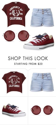 """Untitled #539"" by pinkunicorn007 ❤ liked on Polyvore featuring mode, River Island, Converse, The Row, women's clothing, women, female, woman, misses et juniors"