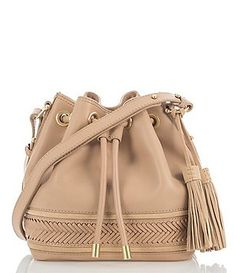 Brahmin Southcoast Knoxville Collection Isabelle Tasseled Cross-Body Bag