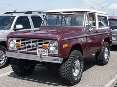 '70's Early Bronco