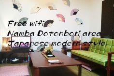Airbnbで見つけた素敵な宿: 大阪 なんば・心斎橋・道頓堀近く☆地下鉄日本橋まで5分☆便利な場所です - 借りられるアパート - 大阪市: 道頓堀 地下鉄
