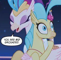 Image result for mlp princess skystar hippogriff