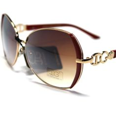 #K IG1-S3 IG Eyewear Elegant Stylish Women's Oversized Aviator Sunglasses