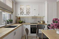 Skandinavische Küche Bilder von Дарья Баранович Дизайн Интерьера  | homify