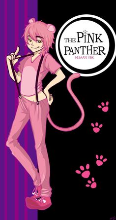 the pink panther(human ver.) by nanamice on @DeviantArt