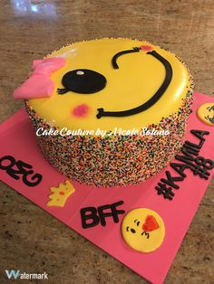 Emoji cake                                                                                                                                                                                 More