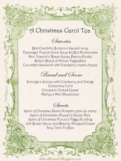 Be Book Bound: A Christmas Carol Tea Party