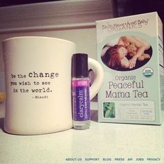 @Ashley Taylor Birthwithoutfear is hooked! Earth Mama's healing teas are rocking her world this week. #herbs #herbaltea