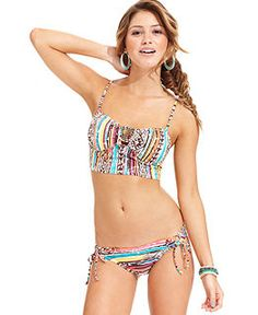 08d6c51cf91 Swimsuits, Bikinis & Bathing Suits for Women - Womens Swimwear - Macy's  Ruffle Swimsuit,