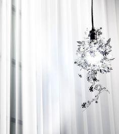 최고로 아름다운 조명 Garland Flower Shade