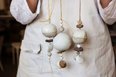 Ring in the spring (and some hippie vibes, too): Thanks to the current pottery renaissance, the handmade ceramic hanging bell is back. Above: Talisman Whit
