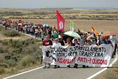 Marcha contra el Polígono de Tiro - Bardenas
