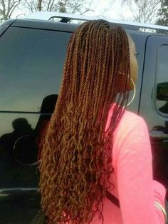 Future protective style? Senegalese Twists Natural Attitude ...