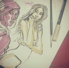 Intro... #sketch #illustration #art #ink #sketchbook